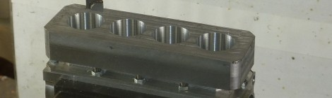 Machining the cylinders - 25/11/13
