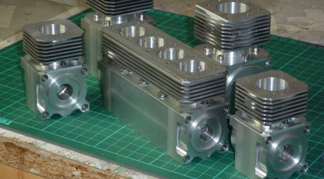 Progress on the miniature IC engines as of January 2014.